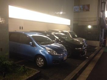 戸越銀座温泉(駐車場).JPG
